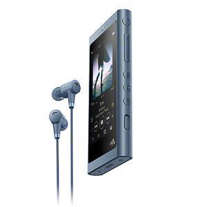 【在庫目安:お取り寄せ】SONY  NW-A55HN/L ウォークマン Aシリーズ 16GB ムーンリットブルー(ヘッドホン同梱)|plusyu