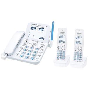 【在庫目安:お取り寄せ】Panasonic  VE-GD66DW-W コードレス電話機(子機2台付き)(ホワイト)|plusyu