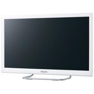 【在庫目安:僅少】Panasonic  TH-24ES500-W 24V型地上・BS・110度CSデジタルハイビジョン液晶テレビ (ホワイト)|plusyu