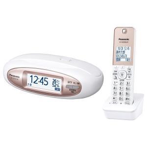 【在庫目安:僅少】Panasonic  VE-GDX16DL-W コードレス電話機(親機に置く専用子機1台+子機1台付き)(パールホワイト)|plusyu