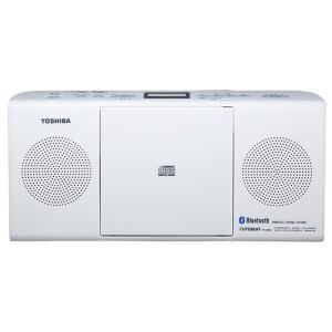 【在庫目安:お取り寄せ】東芝  TY-CW26(W) Bluetooth対応CDラジオ (ホワイト)|plusyu