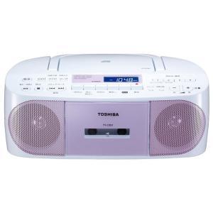 【在庫目安:お取り寄せ】東芝  TY-CDS7(P) CDラジオカセットレコーダー (ピンク)|plusyu