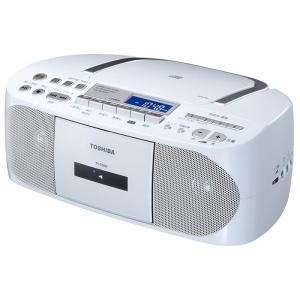 【在庫目安:お取り寄せ】東芝  TY-CDH7(W) CDラジオカセットレコーダー (ホワイト)|plusyu