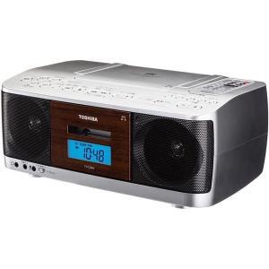 【在庫目安:お取り寄せ】東芝  TY-CDK9(S) CDラジオカセットレコーダー シルバー|plusyu