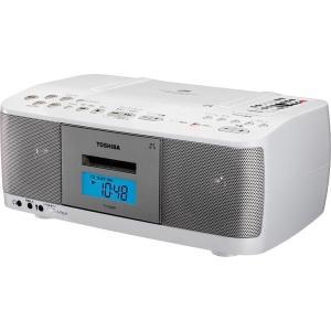 【在庫目安:お取り寄せ】東芝  TY-CDK9(W) CDラジオカセットレコーダー ホワイト|plusyu