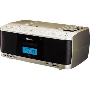 【在庫目安:お取り寄せ】東芝  TY-CDX9(N) CDラジオカセットレコーダー サテンゴールド|plusyu