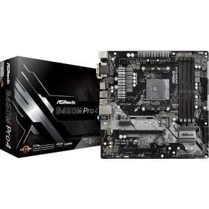 【在庫目安:お取り寄せ】 ASRock B450M Pro4  (RYZEN3000シリーズ対応) ...