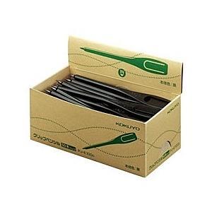 【在庫目安:お取り寄せ】コクヨ  PJ-E100D クリップペンシル (再生樹脂) 50本パック plusyu