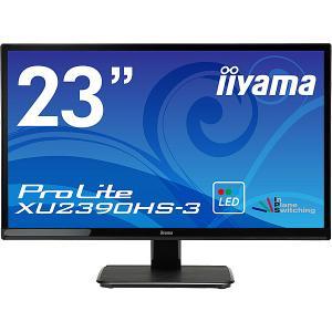 【在庫目安:お取り寄せ】iiyama  XU2390HS-B3 23型ワイド液晶ディスプレイ ProLite XU2390HS-3 (LED、AH-IPS) マーベルブラック plusyu