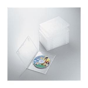 【在庫目安:僅少】ELECOM  CCD-DVD03CR DVDトールケース|plusyu
