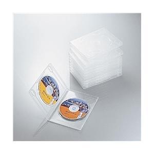 【在庫目安:お取り寄せ】ELECOM  CCD-DVD06CR DVDトールケース|plusyu