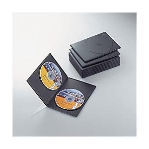 【在庫目安:お取り寄せ】ELECOM  CCD-DVDS06BK スリムDVDトールケース|plusyu