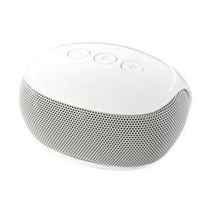 【在庫目安:お取り寄せ】ELECOM  LBT-SPP20WH Bluetoothモノラルスピーカー/ スマートフォン用/ コンパクト/ ホワイト|plusyu