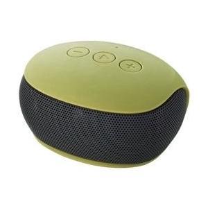 【在庫目安:あり】ELECOM  LBT-SPP20GN Bluetoothモノラルスピーカー/ スマートフォン用/ コンパクト/ グリーン|plusyu