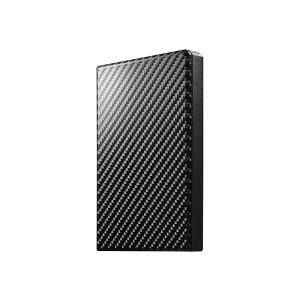 【在庫目安:あり】IODATA  HDPT-UTS500K USB3.1 Gen1対応ポータブルハードディスク「高速カクうす」 カーボンブラック 500GB|plusyu