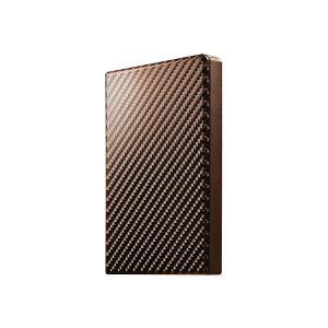 【在庫目安:お取り寄せ】IODATA  HDPT-UTS500BR USB3.1 Gen1対応ポータブルハードディスク「高速カクうす」 ブリックブラウン 500GB|plusyu