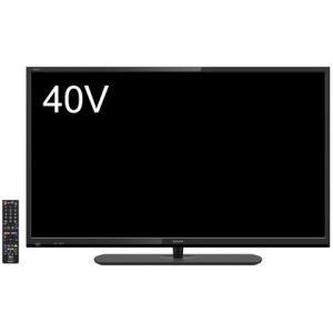 【在庫目安:あり】SHARP  2T-C40AE1 40V型地上・BS・110度CSデジタルフルハイビジョン液晶テレビ 外付HDD対応 plusyu