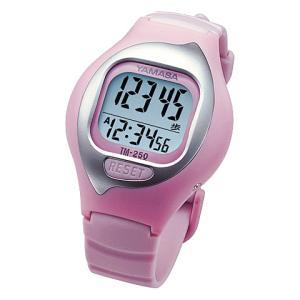 【在庫目安:お取り寄せ】山佐時計計器  TM-250P 万歩計 NEWとけい万歩 (ピンク)