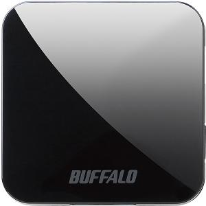 【在庫目安:あり】BUFFALO  WMR-433W2-BK 無線LAN親機 11ac/ n/ a/ g/ b 433/ 150Mbps トラベルルーター ブラック|plusyu
