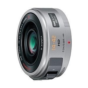 【在庫目安:お取り寄せ】Panasonic H-PS14042-S デジタル一眼カメラ用交換レンズ LUMIX G X VARIO PZ 14-42mm/ F3.5-5.6 ASPH./ POWER O.I.S. (シル…