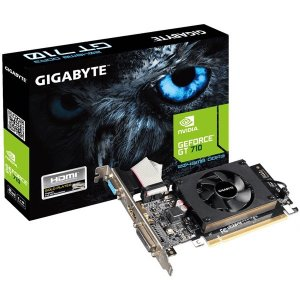 【在庫目安:お取り寄せ】GIGABYTE  GV-N710D3-2GL-R2.0 グラフィックボード GEFORCE GT 710 2GBメモリ搭載 ロープロファイル対応モデル|plusyu