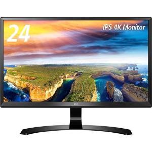 【在庫目安:僅少】LG電子 24UD58-B 23.8型4K対応ワイド液晶ディスプレイ(IPSパネル/ HDMI2.0準拠/ 解像度3840x2160/ LED/ ブルーライト低減…|plusyu