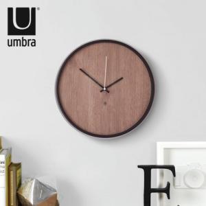 時計 壁掛け 掛け時計 マデラ ウォールクロック アンブラ Madera Wall Clock UMBRA ポイント10倍 送料無料|plywood