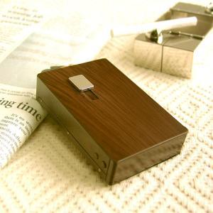 シガレットケース POP-UP 〔ダークブラウン〕|plywood