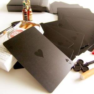 トランプ プラスチック カード Goody Grams Black Playing Cards
