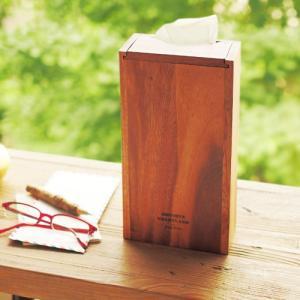 ティッシュケース おしゃれ ウッドティッシュボックス|plywood