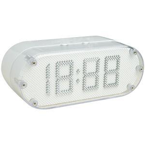 ピン クロックB(時計) ホワイト|plywood