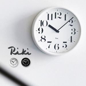 壁掛け 電波時計 掛け時計 RIKI STEEL CLOCK リキ スチール クロック plywood
