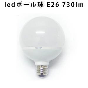 E-CORE LED TOSHIBA ≪ E26/8.9W E26/7.4W ≫ 60W相当 ボール電球形 [LDG9L-H/60W LDG7N-H/60W] 電球色 昼白色 730lm|plywood