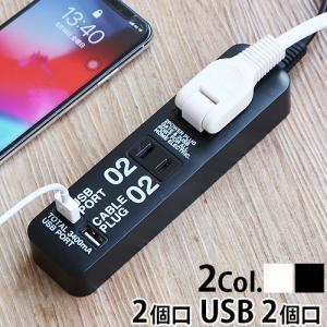 ケーブルプラグ 4個口 & USBポート 2個口 CABE PLUG 04 & USB PORT 02 あすつく対応 ポイント10倍|plywood