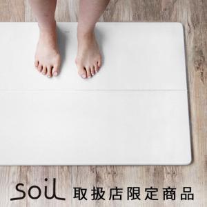 バスマット 珪藻土 ソイル soil GEM ひる石バスマット L ポイント2倍|plywood