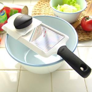 スライサー 野菜 キャベツ オクソー OXO ハンディスライサー 薄切り用 Handy Slicer|plywood