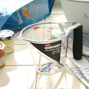 【OXO】 Angled Measuring Cup オクソー アングルドメジャーカップ [S/250cc] plywood