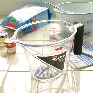 【OXO】 Angled Measuring Cup オクソー アングルドメジャーカップ [L/1000cc] plywood