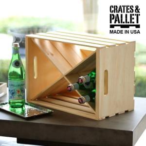 ワイン木箱 木箱 仕切り クレート&パレット エックス ディヴァイデッド インサート [CP-69013] ラージ クレート用 クロス型 仕切り|plywood
