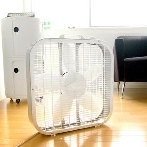 サーキュレーター 扇風機 ラスコ ボックスファン ホワイト LASKO OX FAN 《3733》 送料無料 P10倍 特典付き|plywood