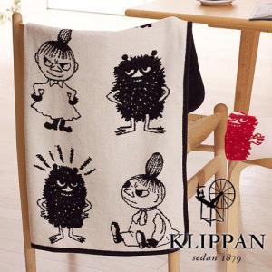 【送料無料】 KLIPPAN コットン ミニブランケット 《 ミイ & スティンキー 》 70×90|plywood