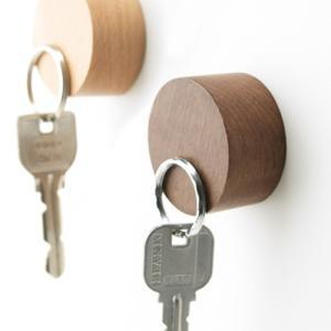 【メール便OK】 【h concept】 tidy Magnet Keyper マグネットキーパー|plywood