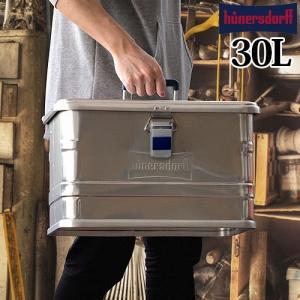 ヒューナースドルフ アルミニウム プロフィー ボックス 29L|plywood