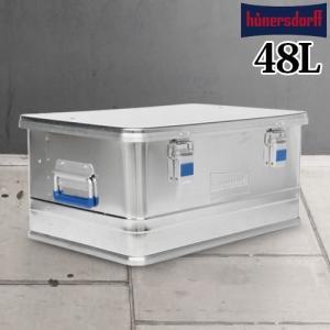 ヒューナースドルフ アルミニウム プロフィー ボックス 47L|plywood