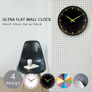 【送料無料】 KIKKERLAND ultra flat wall clock キッカーランド ウルトラ フラット ウォール クロック plywood