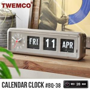トゥエンコ カレンダークロック TWEMCO CALENDAR CLOCK #BQ-38|plywood