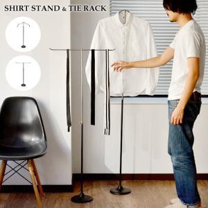 収納ラック ハンガー シャツスタンド & タイラック SHIRT STAND TIE RACK 送料無料 あすつく対応|plywood