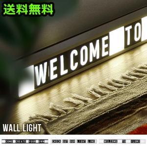 照明 サインボード 文字 看板 DETAIL WALL LIGHT ディテール ウォールライト メーカー直送|plywood