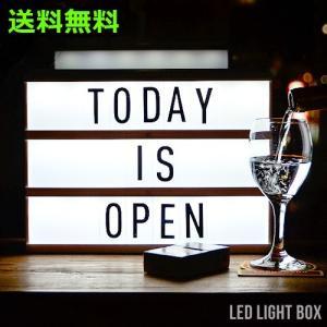間接照明 おしゃれ スタンド サインボード LED LIGHT BOX|plywood