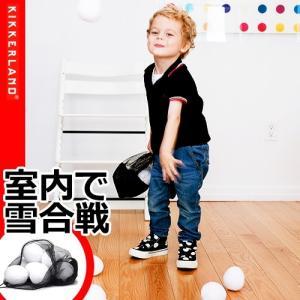 雪合戦 ボール おもちゃ キッカーランド スノーボールバトル plywood